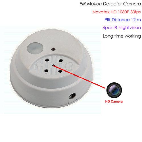 OMG PIR -kamera, 1080P / 30fps, PIR-anturi, Nightvision, HD, SD-kortti Max 128GB, Akun valmiustila 90days (SPY282)
