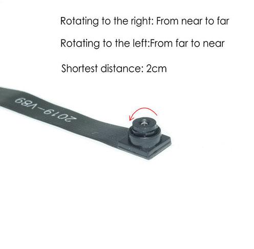 Adjustment focal distance WIFI Camera Module, HD1080P, Focal 2cm-10cm, 600mAh - 5