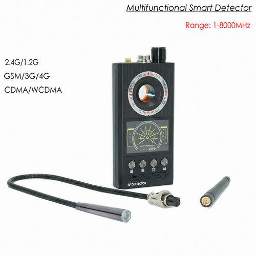 Multifunctional Detector, RF Signal, Mobile Phone, Camera lens, Magnet Detector - 1