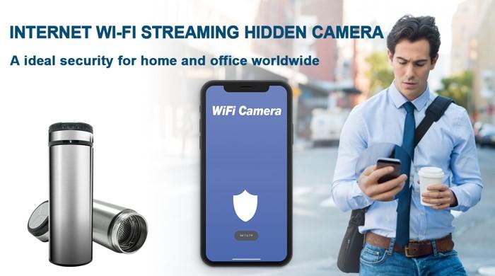 SPY298 - HD 1080P Cup Wi-Fi Security Camera 02