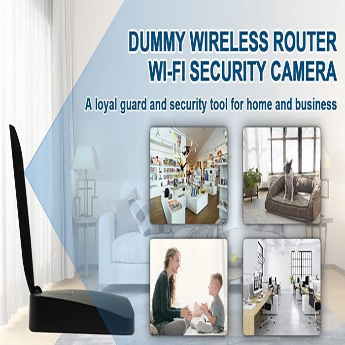 SPY299 - HD 1080P Dummy-reititin Wi-Fi-suojauskamera 08x700