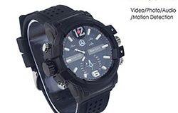 SPY301 - Matala valaistus 2K Kello Kamera, HD1296P 30fps, H.264 MOV, Sisäänrakennettu 16G, Vedenpitävä 01