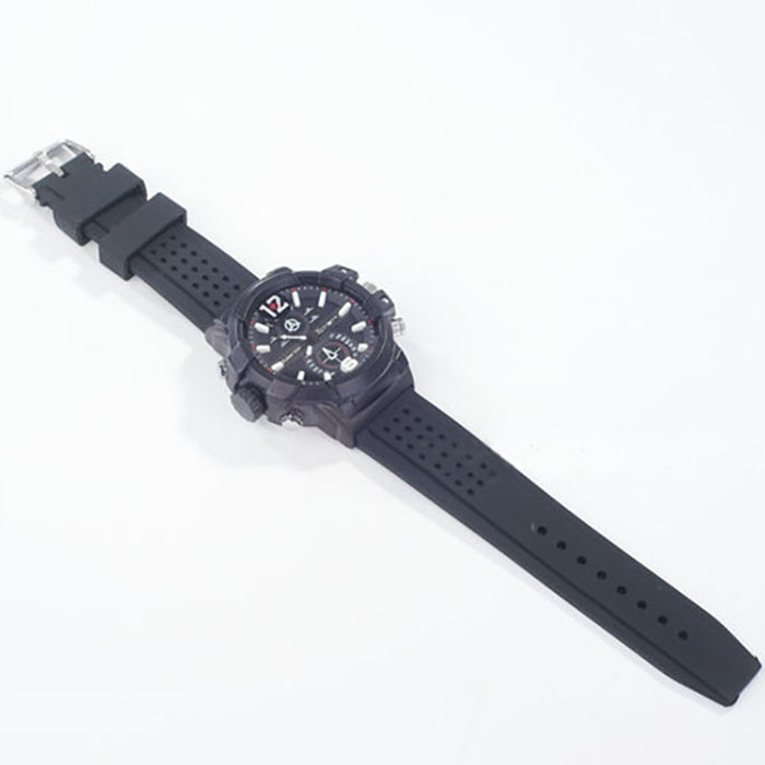 SPY301 - Low illumination 2K Watch Camera,HD1296P 30fps, H.264 MOV, Built in 16G, Waterproof 05