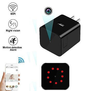 SPY306 - Super Nightvision WIFI Charger Kamera