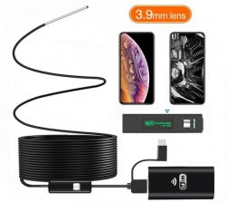 OMG Wifi Borescope Endoskop Kameralins 3.9MM [END016]
