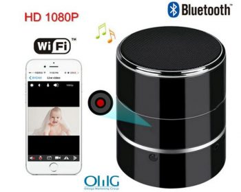 Bluetooth Music Player WIFI Camera