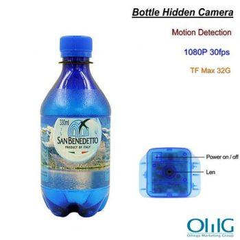 بوتل خفیہ کیمرہ ، تحریک کا پتہ لگانا