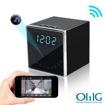HD 1080P Clock Hidden Camera (Cube WiFi)