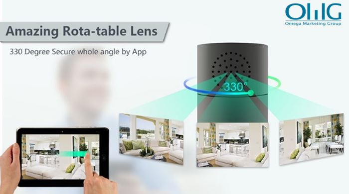 HD 1080P Cylinder Security Wi-Fi Camera