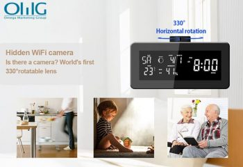 HD 1080P Weather Radio Security Wi-Fi Camera