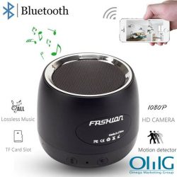 HD 1080P Wifi Hidden Camera Bluetooth Speaker