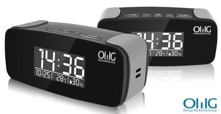 SPY330 - Camera Camera ng Mini Clock WiFi