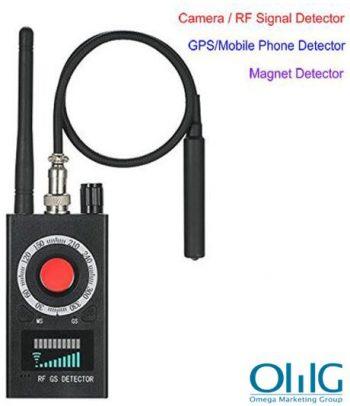 SPY995 - SPY kameraérzékelő - jel-objektív-mágneses detektor