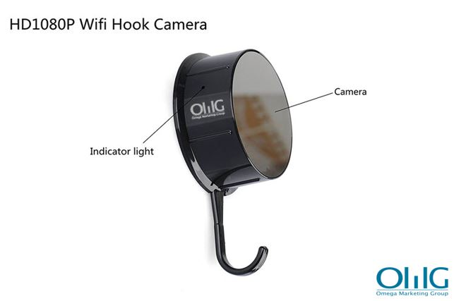 Security HD 720 WiFi Coat, Mga Damit na Nakatagong Camera