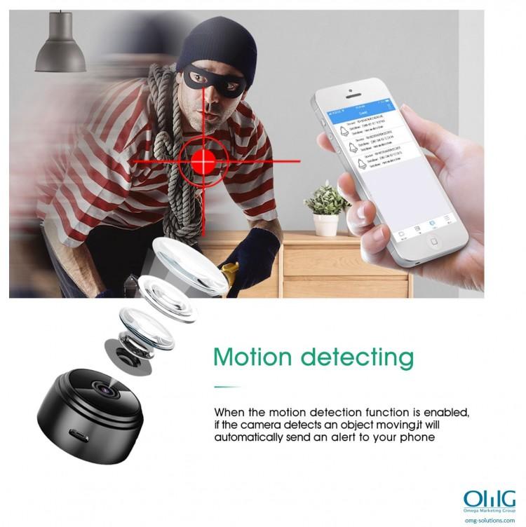 SPY337 - Mini Wireless Cam - Motion Detection