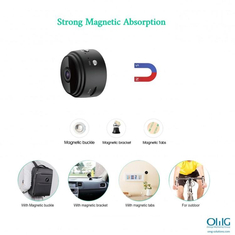 SPY337 - Mini Wireless Cam - Strong Magnet