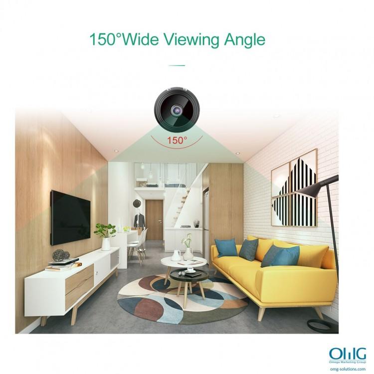 SPY337 - Mini Wireless Cam -Wide Viewing Angle