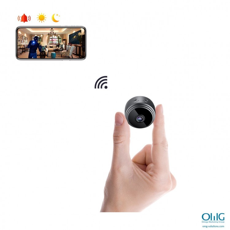 SPY337 - Mini Wireless Cam - Njikọ Wifi
