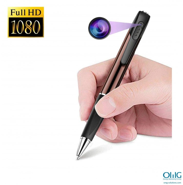 SPY339 - OMG Spy Pen -Juru HD 1080p