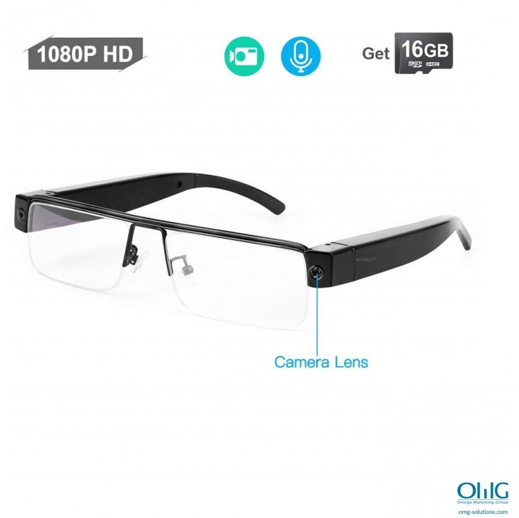 SPY340 - V13 Spy Glasses - 1080P HD, Camera Lens