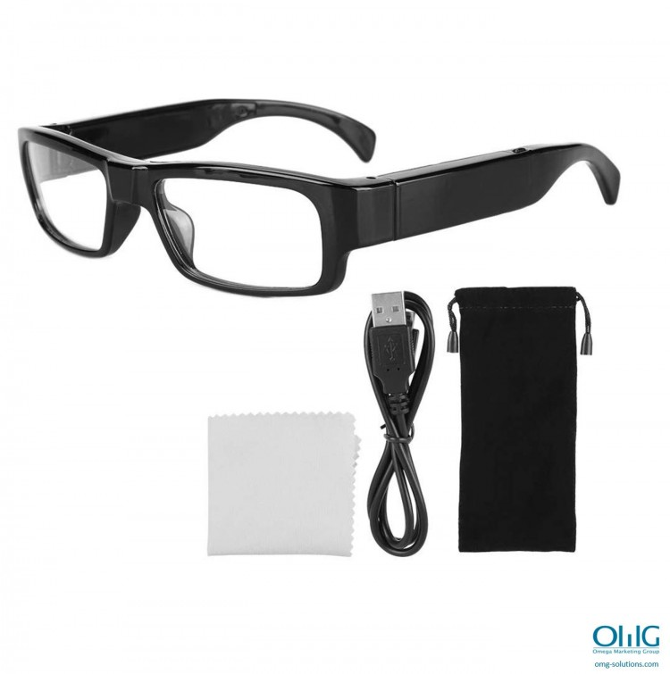 SPY342 - دوربین عینک جاسوسی G3000 عینک - قرارداد بسته بندی