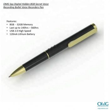 SPY346 - V6 جاسوس کیمرے قلم - قلم کی خصوصیات