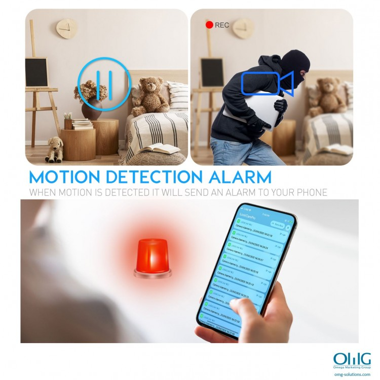 SPY348 - Wireless Plug Camera - Motion Detection Alarm