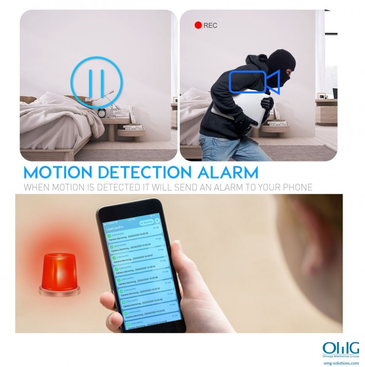 SPY350 - IP30WB - Motion Detection Alarm