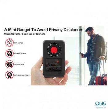 SPY990 - جاسوس کیمرے کا پتہ لگانے والا - اہم خصوصیات