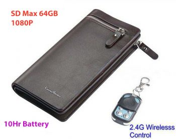 Handbag Camera, SD Card Max 32GB, 10 oras, Wireless Remote Control