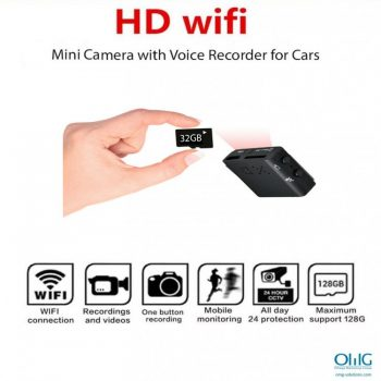 SPY345 - Mini Camera na may Voice Recorder - USB Camera