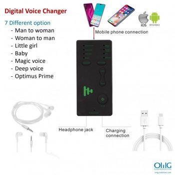 SPY355 - Portable Voice Changer - All Features 2