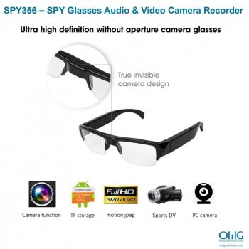 SPY356 - SPY Salamin Recorder ng Audio at Video Camera