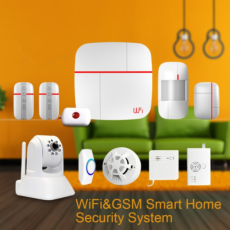 vCare Smart Home Security System WiFiGSM