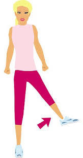 Fall prevention exercises for seniors - Side leg raise
