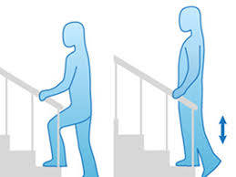 Fall prevention exercises for seniors - Step up your Steps