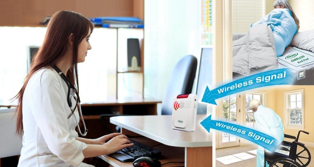 Promotion B Wireless Motion Sensor Bed Exit Alarm