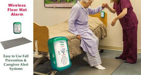 OMG Wireless Floor Mat Alarms for Home / Hospital