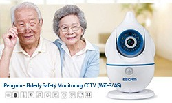 iPenguin - Elderly Safety Monitor IP Camera CCTV 250x