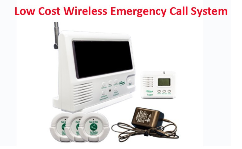 Wireless Elderly Emergency Button