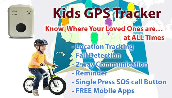 Personal GPS Tracking Device for Kids