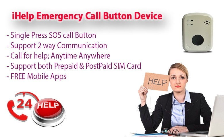 Office Panic Call Button to Mobile
