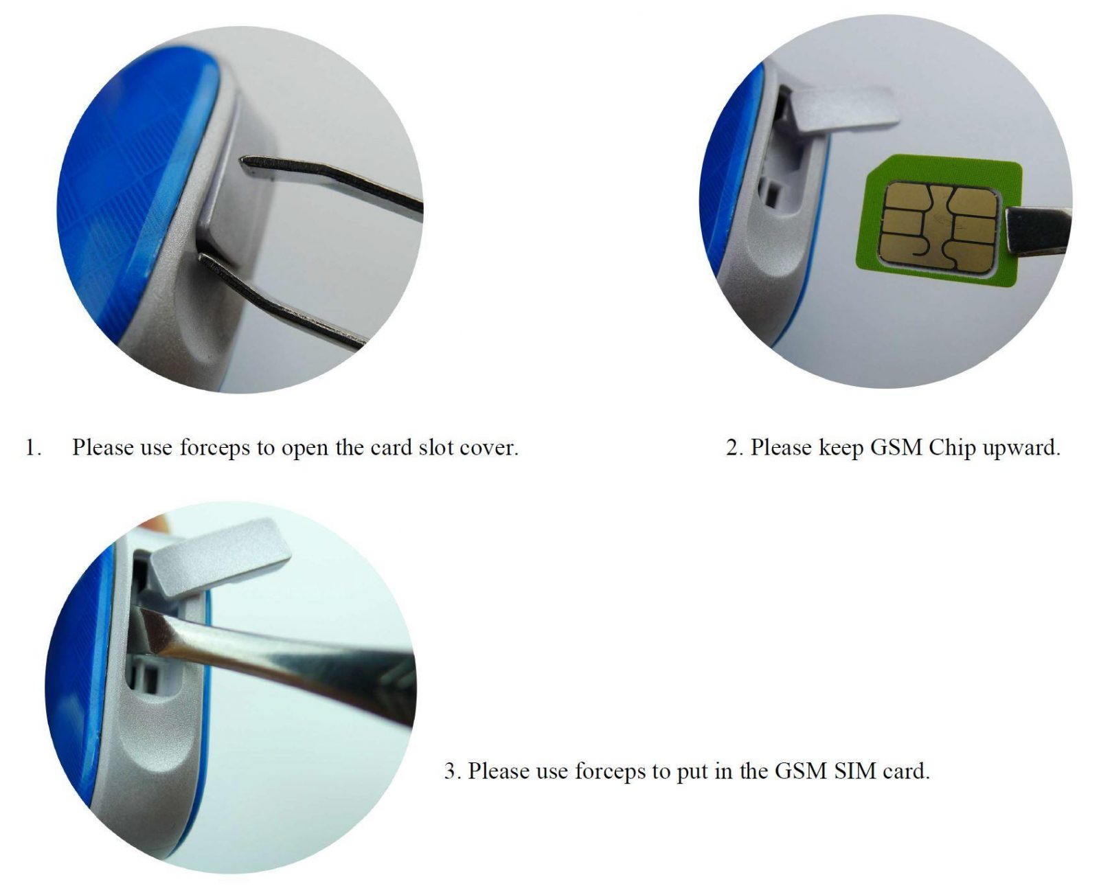 Pendant GPS Tracker for Elderly - SIM Card