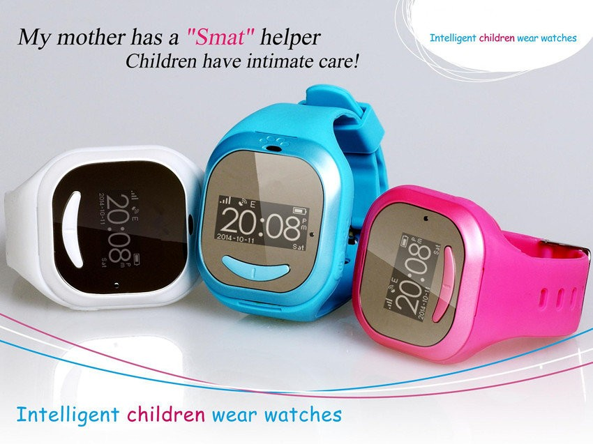 GPS Tracker Watch for Children- Color Range