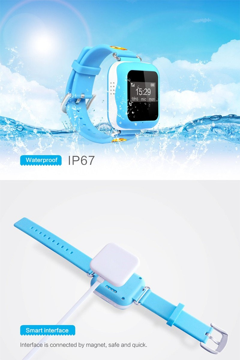 Keiki GPS Watch (Waterproof - IP67)