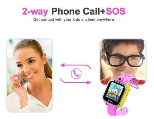 3G Kids GPS Tracker Watch - 2-Way Phone call + SOS