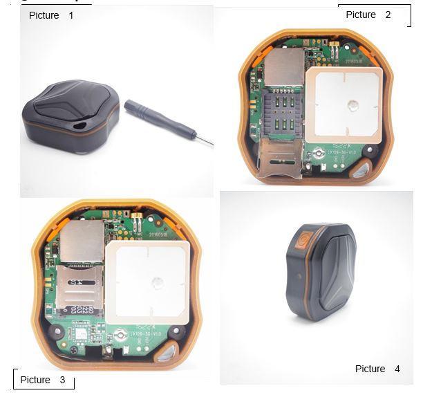 Ubomi obuphezulu beBhettery kwi-GPS Tracker ye-Elderly Demantia / I-Kids - Amanzi angenanzi IPX6 (OMGGPS06) - Ukufakwa