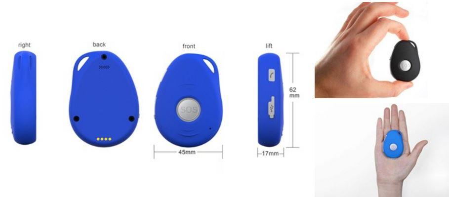 3G GPS Key Chain for Elderly