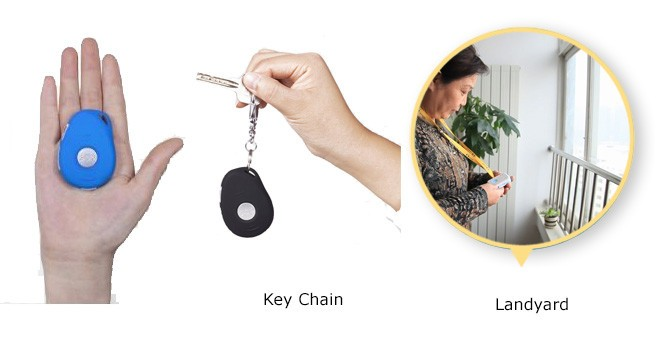 3G Key Chain GPS Tracking & Fall Detection (ældre)