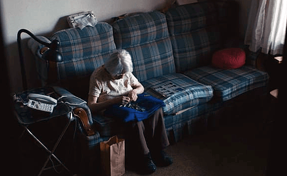 Elderly living alone